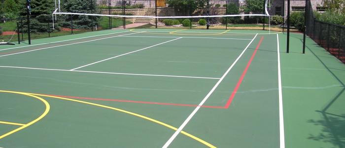 Sport Court Construction, Tennis court