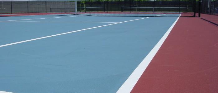 Tennis court paving, tennis court repair