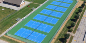 Tennis Courts, tennis court construction, Commercial Tennis court construction wisconsin