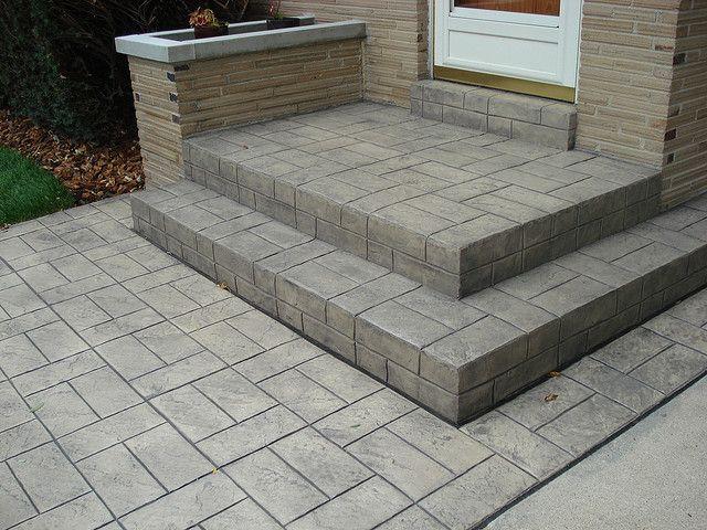 Stamped Concrete Pavement : F d c z munson inc